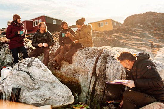 Nuuk Fiord BBQ - Open boat