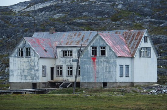 Nordafar - Abandoned fishery station...