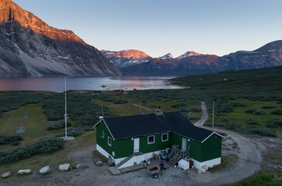 Qooqqut - The Restaurant in the fiord...