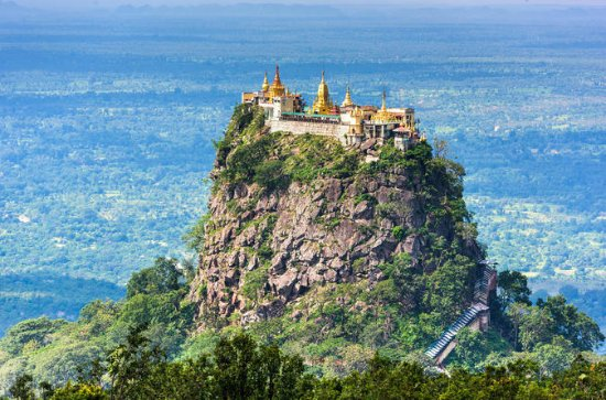 Day trip to Mount Popa from Bagan