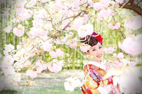 Kyoto Location Photo Wedding in Japanese-style Bridal Dress