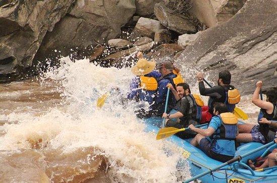 Viaje en balsa por el río Durango