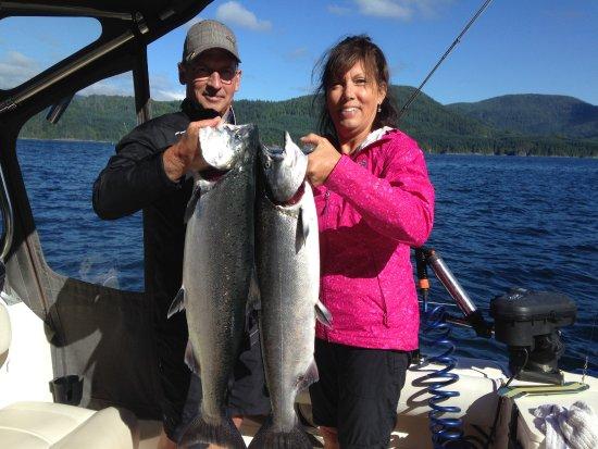 Campbell River, Canada: Fantastic scenery, calm seas and fine fish