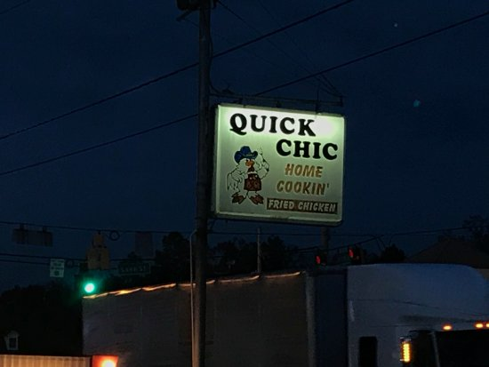 Folkston, GA: Sign out front