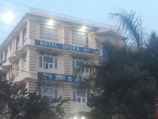 Hotel Opera: front view