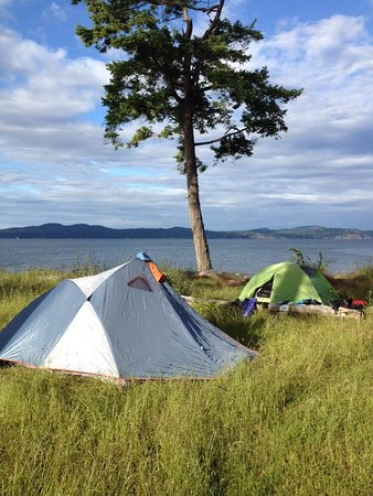 Mill Bay, Canadá: Camping in the Gulf Islands