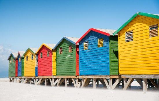 كيب تاون المركزية, جنوب أفريقيا: beach huts