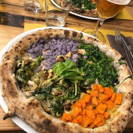 Le pizze vegetariane sono ottime