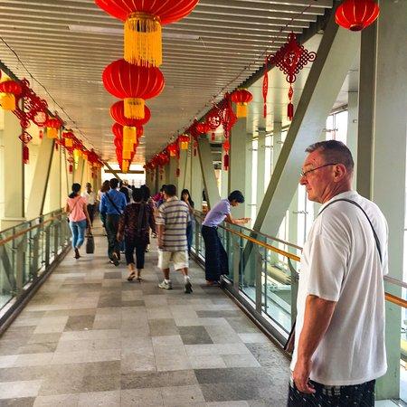 Bogyoke Aung San Market: Walkway to market Chinese New Year 2018