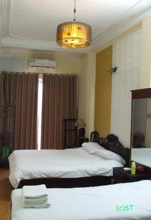 Kangaroo Hotel: Double and single bed