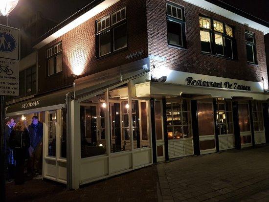 Geldrop, Pays-Bas : Restaurant in de avond