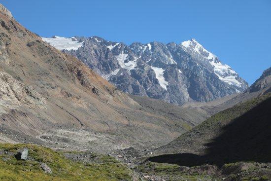San José de Maipo, Chile: to the hanging glacier El Morado