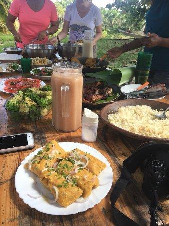 Caimito, Cuba: lunch