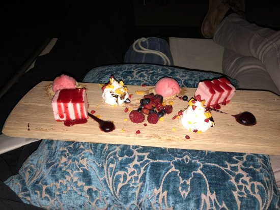 Bantry Bay, Sudáfrica: A wonderful dessert to compliment a wonderful Valentines day experience.