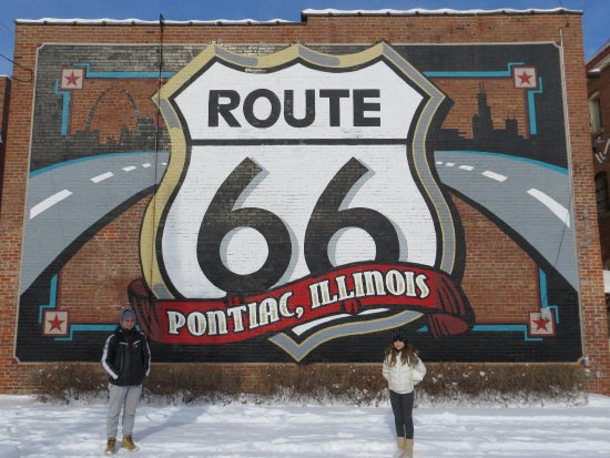 IL Route 66 Association Hall of Fame & Museum: Pontiac Rt.66 museum