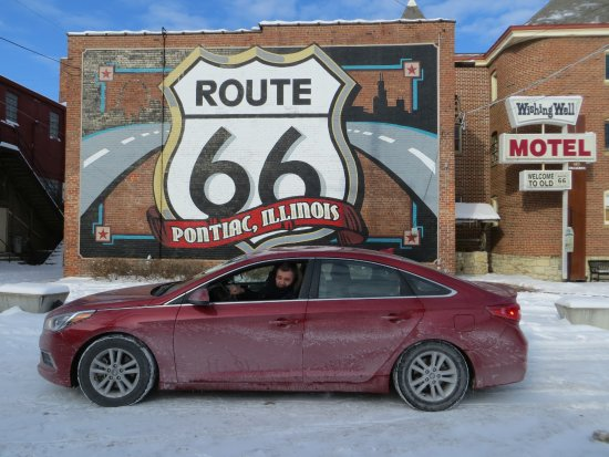 IL Route 66 Association Hall of Fame & Museum : Pontiac Rt.66 museum