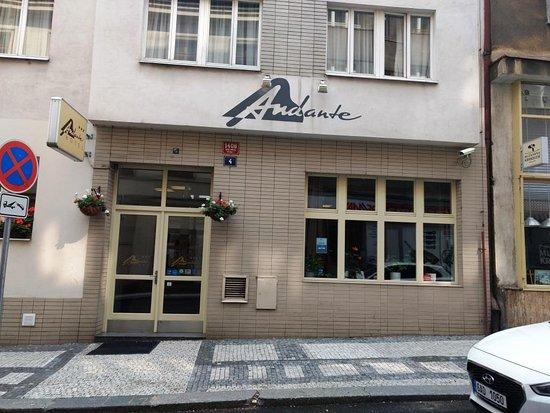 Andante Hotel: Entrada do Hotel