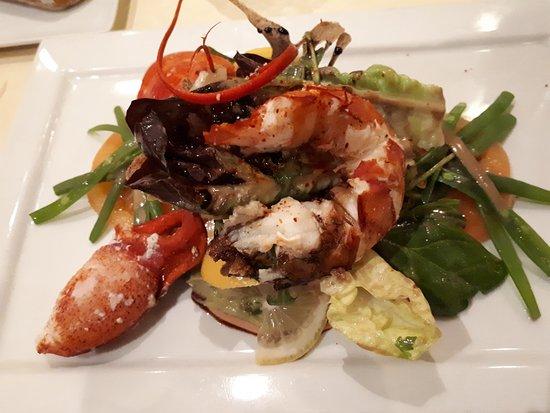 Salade de homard picture of la table des marechaux hotel napoleon fontainebleau tripadvisor - Table des marechaux fontainebleau ...