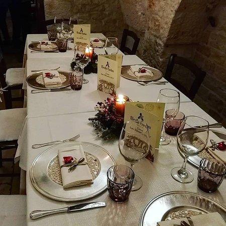 Trullo garden alberobello ristorante recensioni numero for Tavolo natalizio