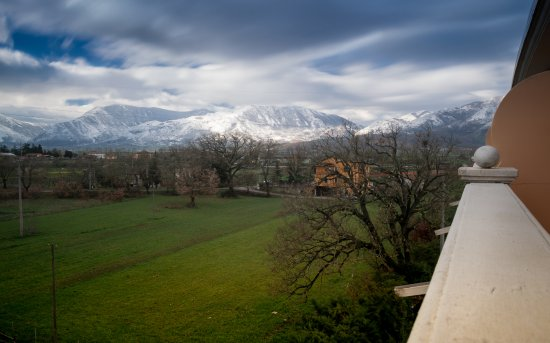 Atena Lucana, Italien: Panorama dal balcone