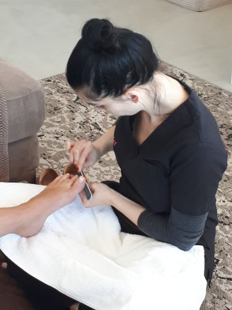 Kenton-on-Sea, South Africa: Pedicure