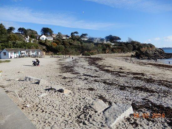 Swanpool Beach: Beach wth cafe