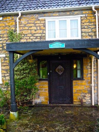 Crewkerne, UK: front door