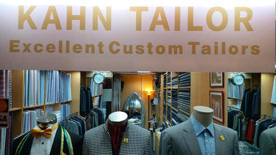 British Tailor in Hong Kong, My Tailor make me good custom