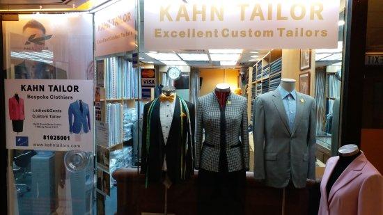 Kahn Tailor服装订制店