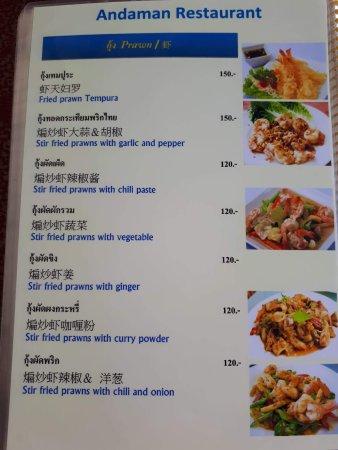 Best Seafood Restaurant Khao Lak