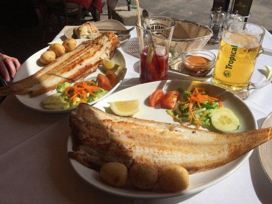Avenida Del Mar: Grilled Sole