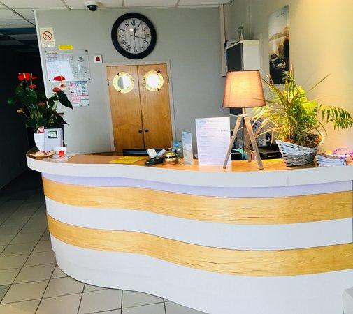 Hotel Rêve de Sable : Reception