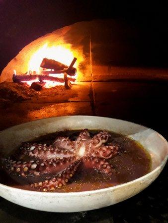 Felegara, إيطاليا: Polpo al forno con patate