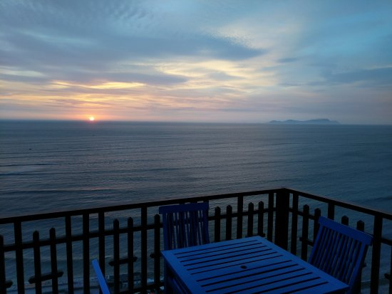 Second Home Peru: Balcony view of the ocean