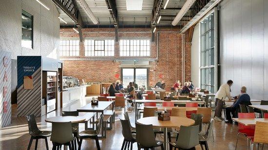 Patchway, UK: Aerospace Bristol cafe