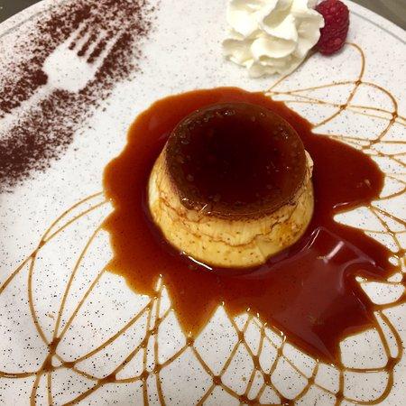 Lonate Pozzolo, إيطاليا: Creme caramel al vapore