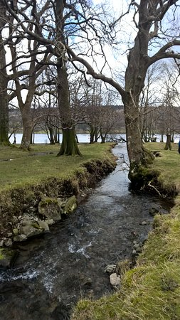 Coniston Water: A less trodden path down to the lake front.