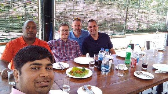 Hosur, Hindistan: Restaurant