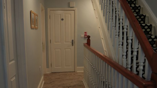Distressed Wood Floors And Carpeted Stairs Picture Of Summer Hill