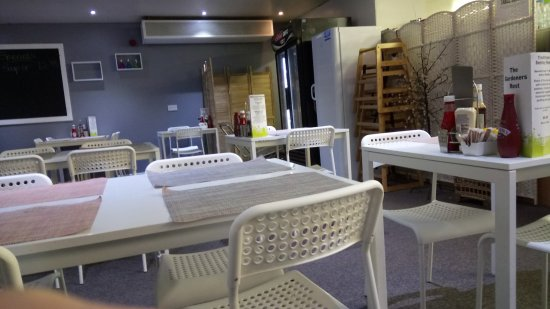 Freuchie, UK: seating area