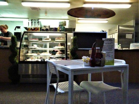 Freuchie, UK: display cabinet