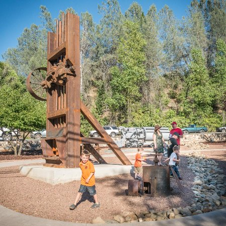 Sutter Creek's latest attraction, Miners' Bend Park