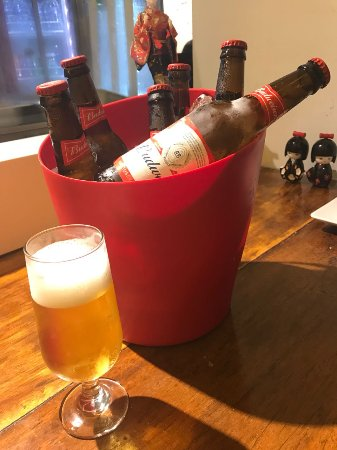 Tanabe San: Balde Budweiser