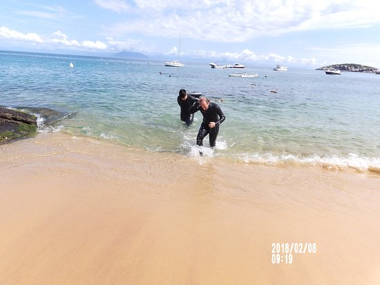 Playa de João Fernandez: buceo