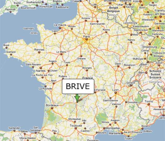Brive France Map.Le France Prices Hotel Reviews Brive La Gaillarde Tripadvisor