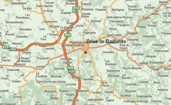 Brive France Map.Brive La Gaillarde Large Jpg Picture Of Le France Brive La