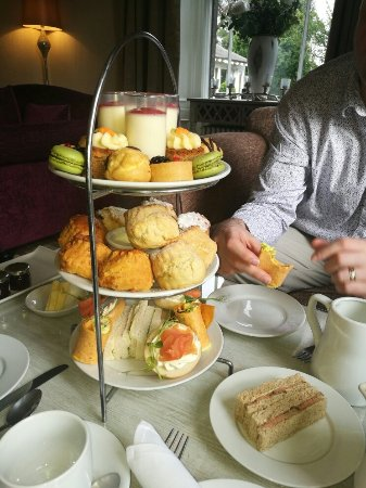 Ponteland, UK: Beautiful afternoon tea.