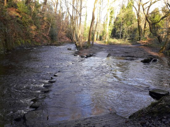 Rivelin Valley Nature Trail: The ford to the NE of the café