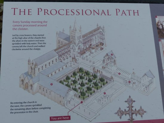 St Andrews Cathedral: De kathedraal was vroeger enorm