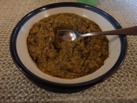 Altopascio, Italien: farinata di cavolo nero alla farina di mais